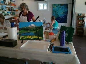 Oil Painting Class with Allison LeBaron