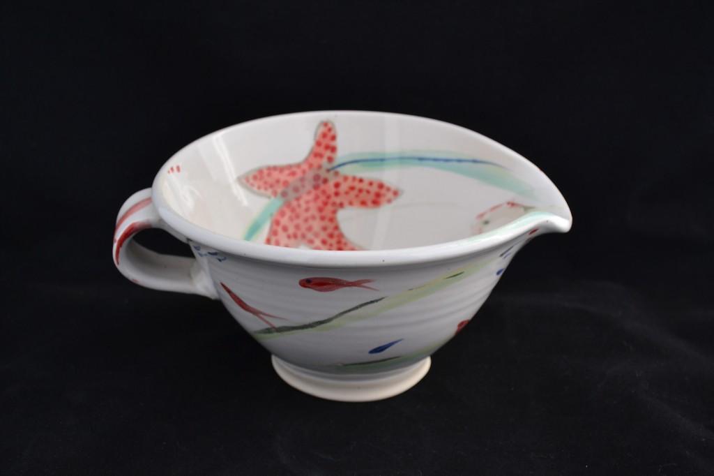 Allison lebaron ceramics art alley for Fish batter bowl